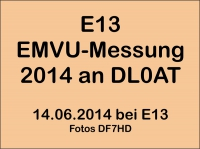 Photo Gallerie » 2014 » 2014-EMVU-Messung-DL0AT